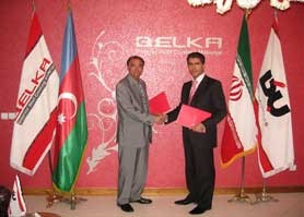 a3c274009bd امضای قرارداد نمایندگی با کشور باکو   بلکا،پوشش سلولزی،جایگزین رنگ ...